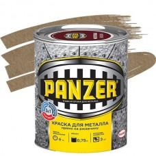 Panzer молотковая золотистая 0,75 л