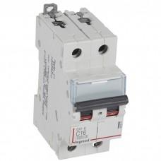 Автоматический выключатель Legrand DX3-E 407277 2P C 16A 6кА