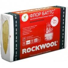 Rockwool Флор Баттс 1000х600х50 мм 4 плиты в упаковке