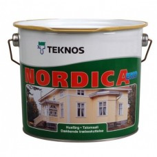 Краска Teknos Nordica Eko РМ3 9 л