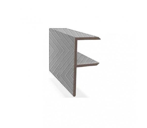F-профиль Savewood серый 4000х65х30 мм