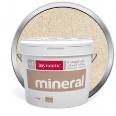 Штукатурка мраморная декоративная Bayramix Mineral 413 15 кг
