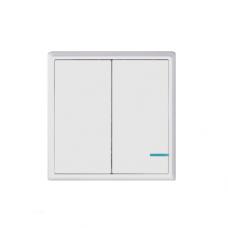 Gritt Practic A180102W двухклавишный белый