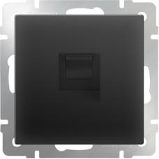 Werkel Ethernet WL08-RJ-45 черный матовый