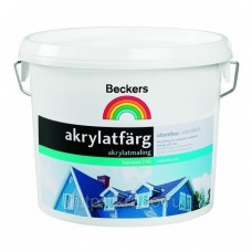 Beckers Akrylatfarg BAS C 9 л