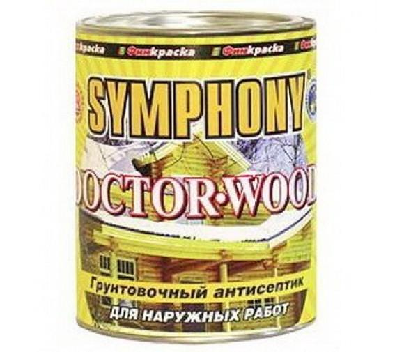 Антисептик грунтовочный Symphony Doctor-wood 2,7 л