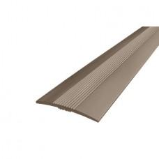 Порожек алюминиевый ДП2 Бронза 37х2700 мм