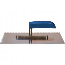 Гладилка нержавеющая сталь деревянная ручка 13х28 (з.10х10)