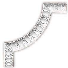 Угол декоративный для молдинга Decomaster 98885-2 220х220х11 мм
