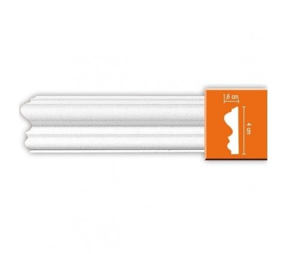 Молдинг полиуретановый Decomaster 97803 2400х40х16 мм