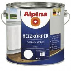 Alpina Heizkorper для радиаторов белая 0,75 л