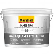 Грунтовка для фасадных работ Marshall Maestro глубокого проникновения 10 л