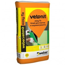 Клей для плитки и керамогранита Weber.Vetonit Easy Fix 25 кг