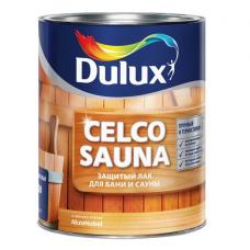 Лак для бани и сауны Dulux Celco Sauna 20 полуматовый 1 л