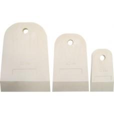 Шпатели резиновые (набор 40 мм.,60 мм.,80 мм.) Profi