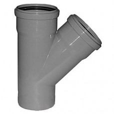 Хемкор 3.2 Ду 50х50х50 мм 45 градусов с кольцом серый