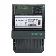 Счетчик электроэнергии Инкотекс Меркурий 230 AR-02 C 10-100А трехфазный однотарифный