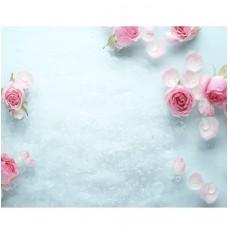 Novita 3D Ледяная роза 2500х250 мм 8 штук