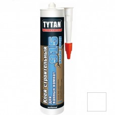 Клей строительный Tytan Professional №915 для ванных комнат белый 440 г