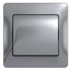Выключатель Schneider Electric Glossa GSL000312 одноклавишный алюминий