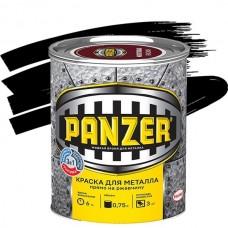 Panzer гладкая черная 0,75 л