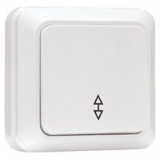 Выключатель EKF Рим ENV10-025-10 одноклавишный проходной белый