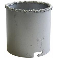 Коронка кольцевая с карбидно-вольфрамовым напылением д-83мм (h55мм)