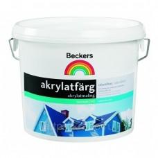Beckers Akrylatfarg BAS A 9 л