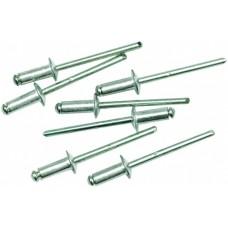 Заклепки алюминиевые вытяжные 4,0*12 мм 50 шт/уп