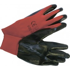 Перчатки нейлон, нитриловый облив