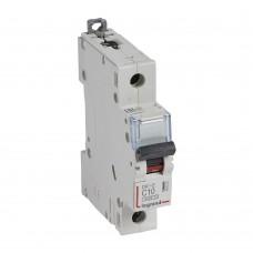 Автоматический выключатель Legrand DX3-E 407261 1P C 10A 6кА