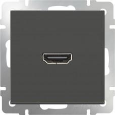 Механизм розетки Werkel HDMI WL07-60-11 серо-коричневый