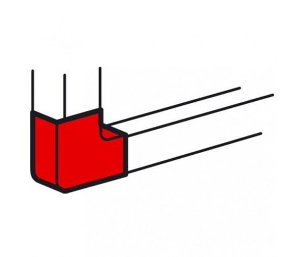 Угол плоский для кабель-канала Legrand Metra 638013 100х50 мм