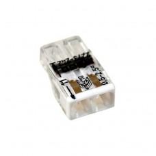 Клемма 2 провода WAGO 2х0.5-2.5мм с пастой