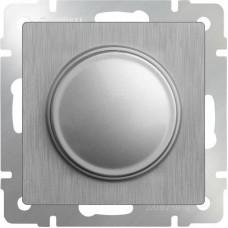Механизм светорегулятора Werkel WL09-DM600 поворотный cеребряный рифленый