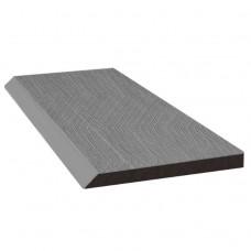 Рейка торцевая Savewood серый 4000х80х9 мм