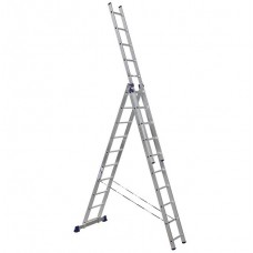 Лестница трехсекционная Алюмет 5310 3х10