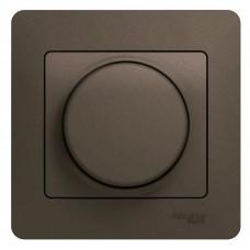 Светорегулятор Schneider Electric Glossa GSL000834 300 Вт поворотный шоколад