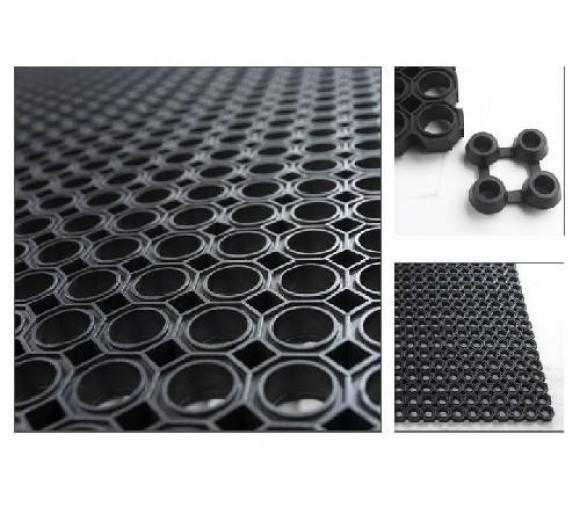Коврик резиновый ячеистый Cleanwill 1000х500х12 мм