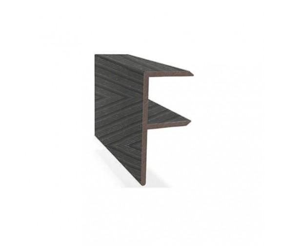 F-профиль Savewood черный 4000х65х30 мм