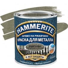 Hammerite молотковая серебристо-серая 5 л