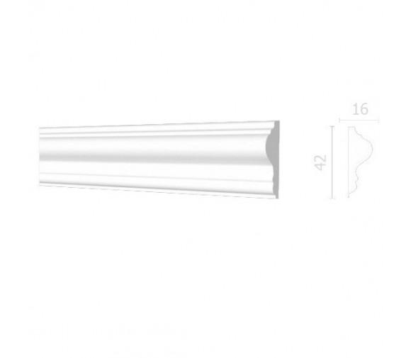 Молдинг из дюрополимера Decor-Dizayn DD301 2000х42х16 мм