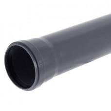 Труба канализационная ПП Саратовпластика Ду 110х2,7х500 мм с кольцом