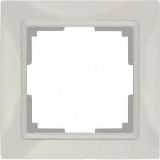 Рамка одноместная Werkel Snabb Basic WL03-Frame-01 Слоновая кость
