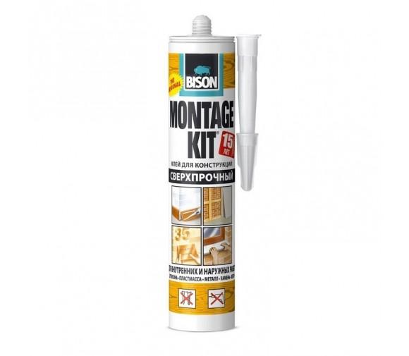 Монтажный клей Bison Montagekit Super Strength 6304336 350 г