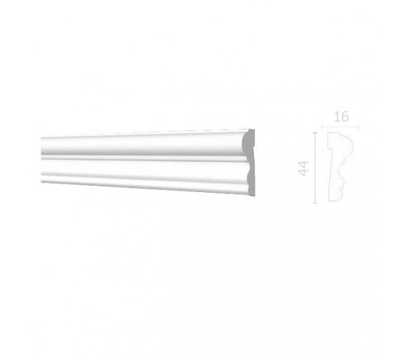 Молдинг из дюрополимера Decor-Dizayn DD400 2000х44х16 мм