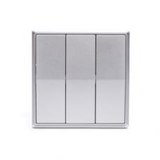 Gritt Elegance B180100S трехклавишный серый металлик