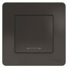 Выключатель Schneider Electric Blanca BLNVS010116 одноклавишный с индикатором антрацит