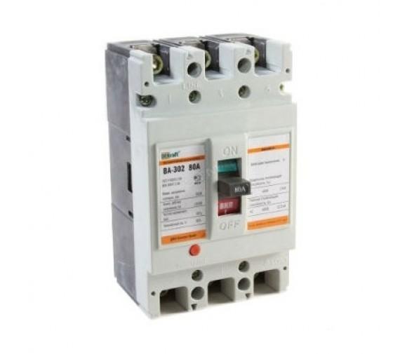 Автоматический выключатель DEKraft ВА-302 80А 25кА