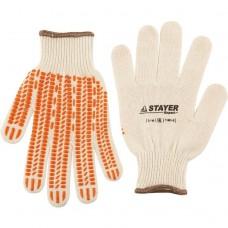 Перчатки Stayer Expert 11401-XL трикотажные противоскользящие